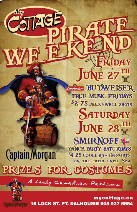 Pirate Weekend Poster
